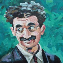 Groucho gives the eyes